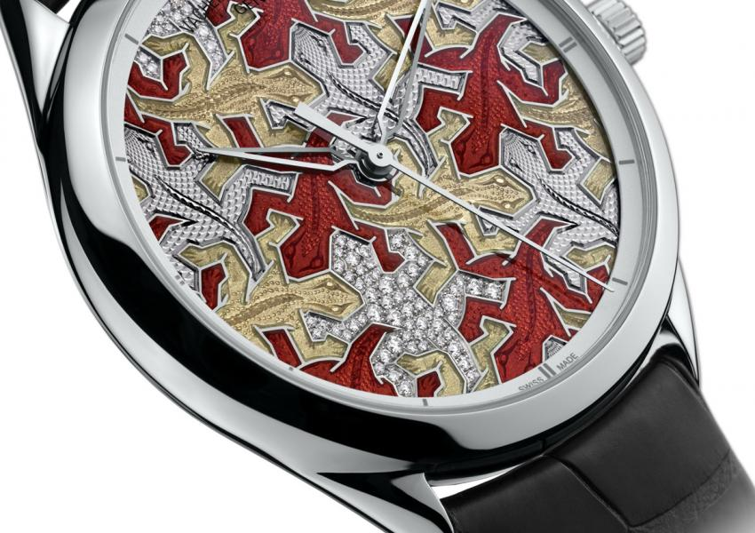Vacheron Constantin Métiers d'Art Les Univers Infinis: Lizard watch