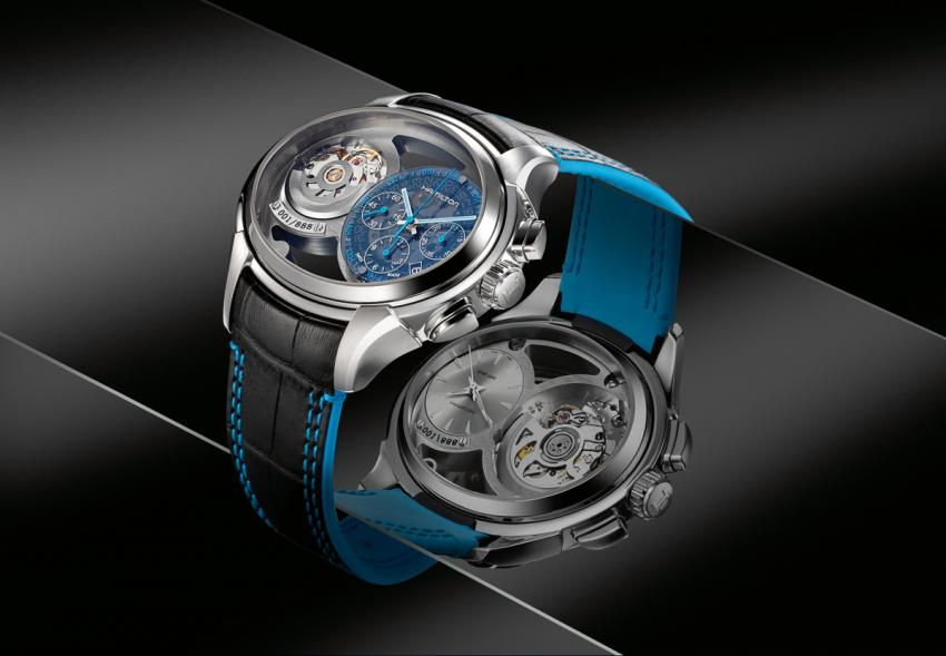 Hamilton Jazzmaster Face 2 Face with its two dials