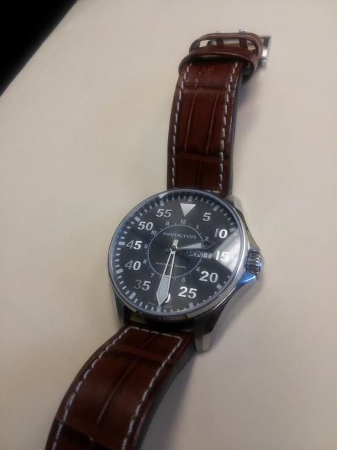Hamilton King Pilot watch