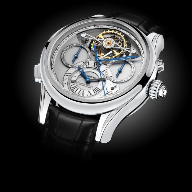 ExoTourbillon Rattrapante from the Montblanc Collection Villeret 1858