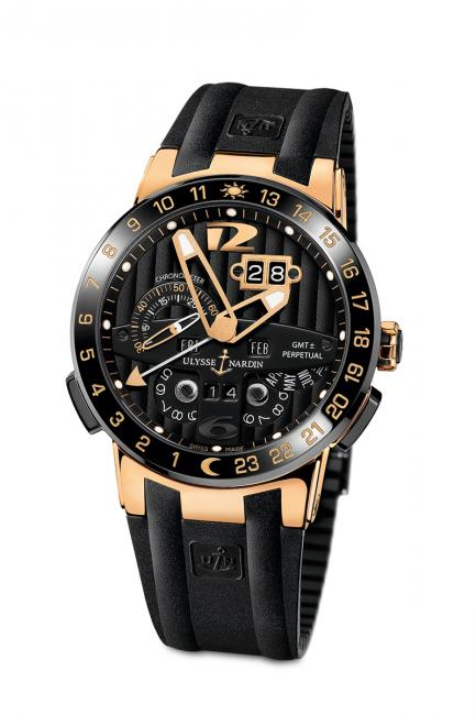 Ulysse Nardin Black Torro, the industry's best perpetual calendar timepiece to date.