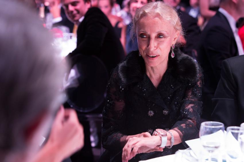 The grande dame of fashion Franca Sozzani