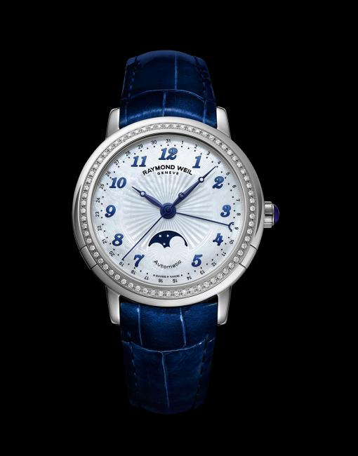 Lady maestro Phase de Lune watch from Raymond Weil