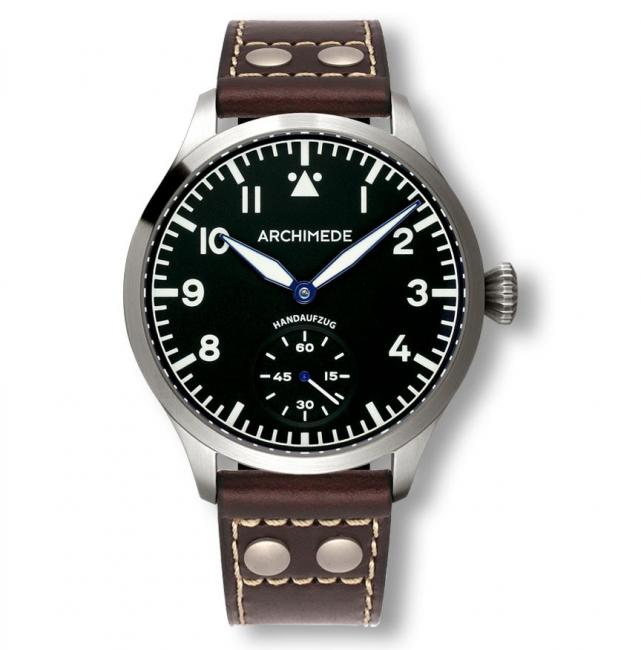 Archimede Pilot 45mm Hand Wound