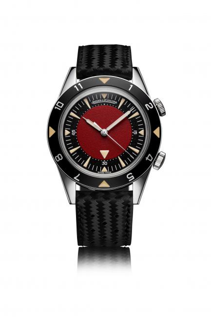 Jaeger-LeCoultre Memovox Tribute to Deep Sea customized by Jonathan Ive and Marc Newson for a (RED) auction