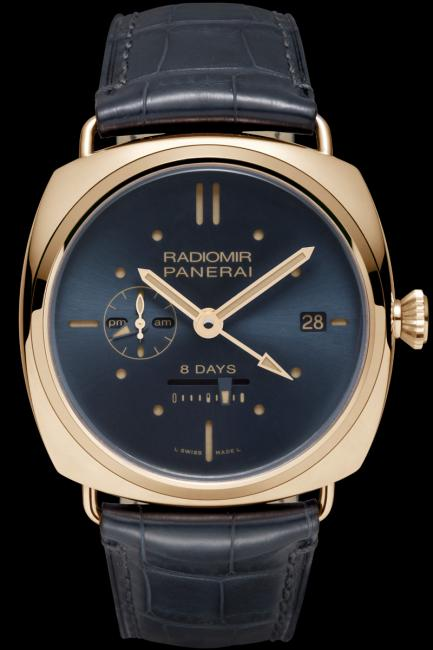 Officine Panerai presents the Radiomir 8 Days GMT Oro Rosso