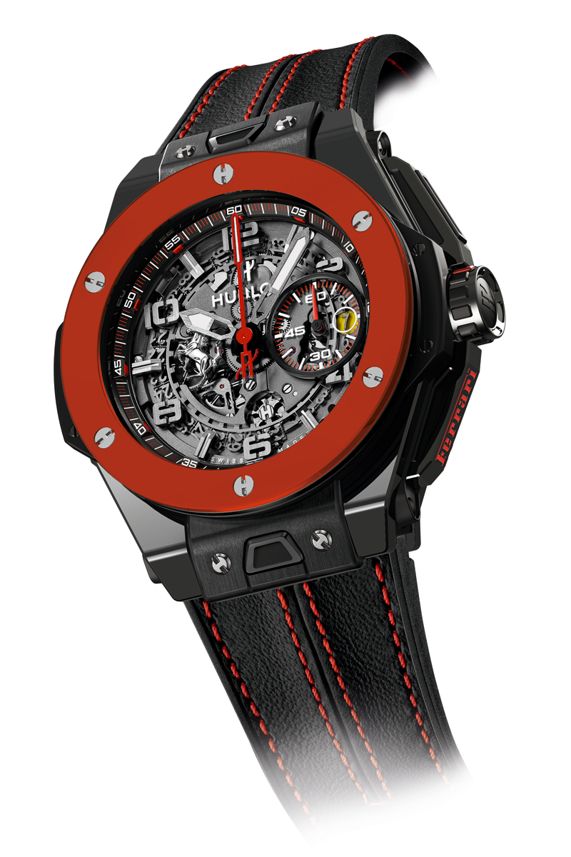 hublot and ferrari celebrate 30 years in hong kong with. Black Bedroom Furniture Sets. Home Design Ideas