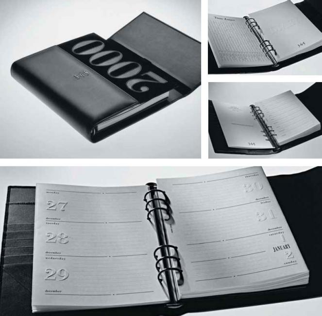 Limited edition agenda by Giuliano Mazzuoli