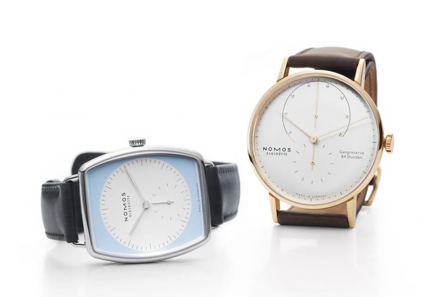 Lux and Lambda watches by NOMOS Glashütte