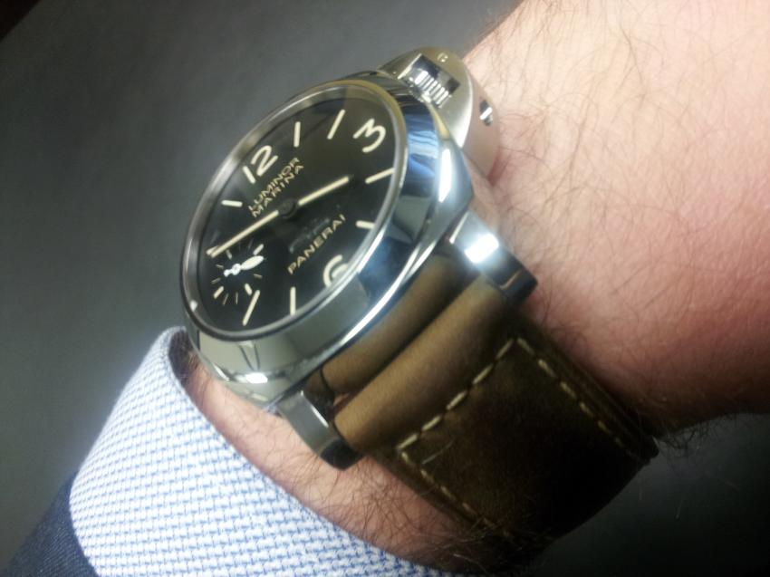 TimeCaptain acquired a Grail piece, a limited edition Panerai Luminor