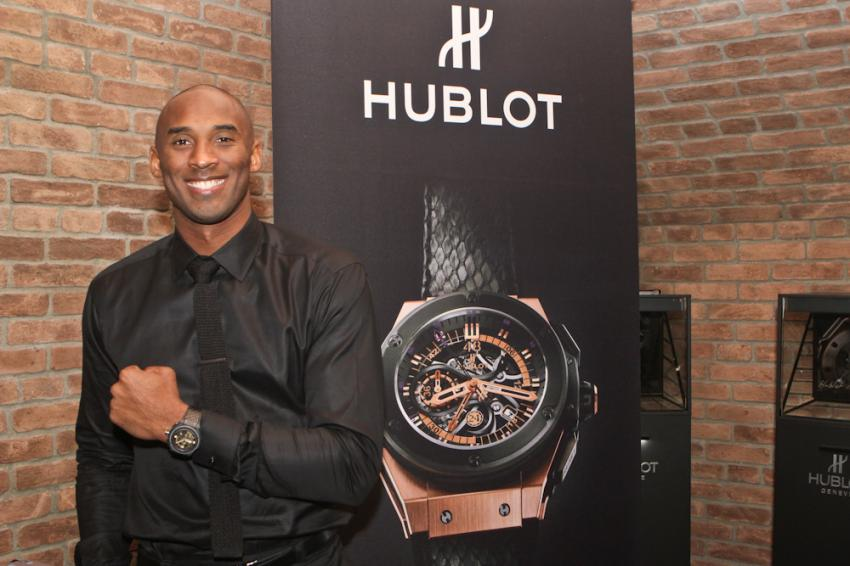 15-Time NBA All-Star, Kobe Bryant and his Hublot King Power Black Mamba King Gold