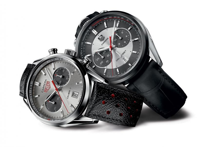 CAR2C11 and CV2119 TAG Heuer Carrera Jack Heuer Editions 2012 and 2013