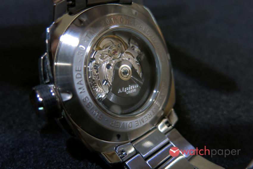 The AL-525 automatic caliber, will provide a 38-hour power reserve