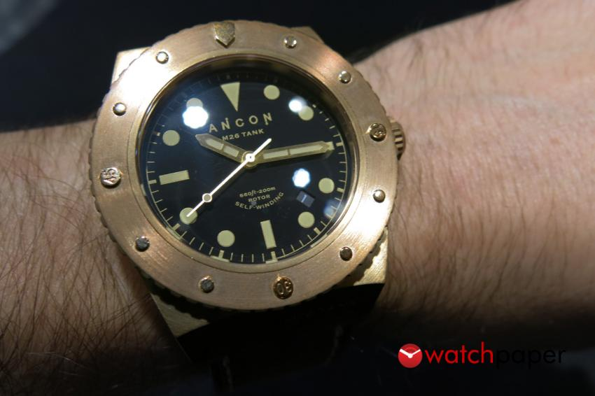 Ancon M26 Tank on the wrist