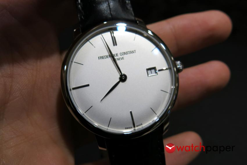 The elegant Frédérique Constant Slim Line Automatic