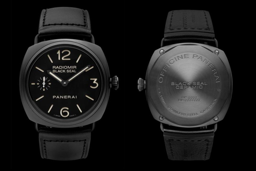 Panerai Radiomir Black Seal ceramic case