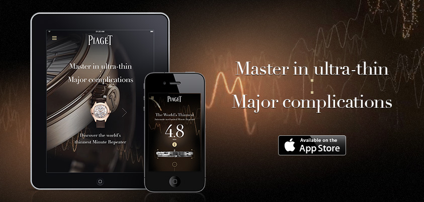 Piaget iPhone and iPad App