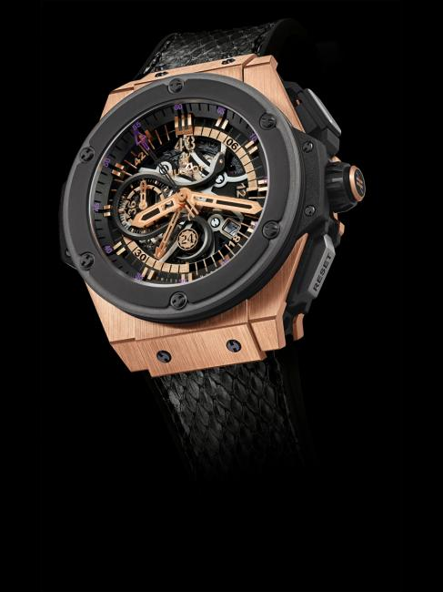 Hublot King Power Black Mamba King Gold
