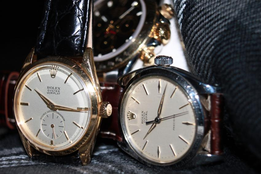 A couple of Rolexes from the AdamVintage collection