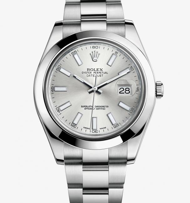Rolex Datejust II silver dial