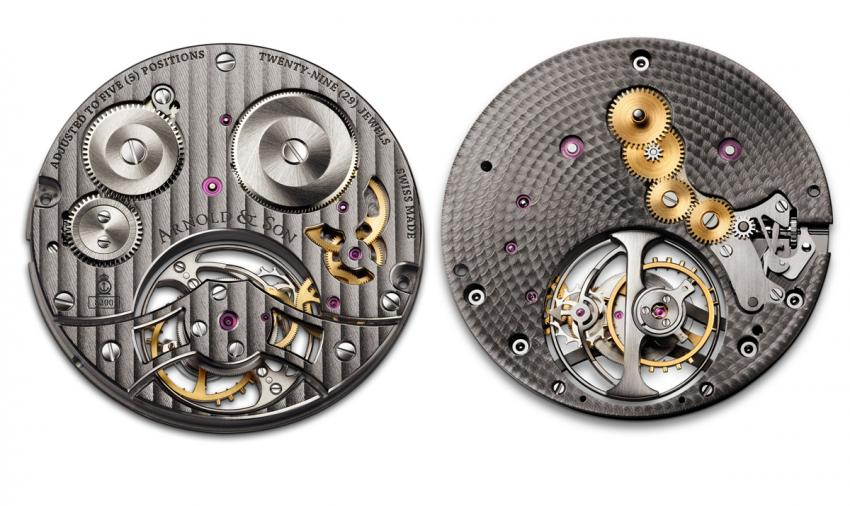 Arnold & Son ultra-thin mechanical movement, A&S8200
