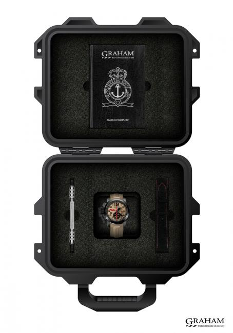 The Chronofighter Oversize Superlight Baja 1000 comes with an impressive box.