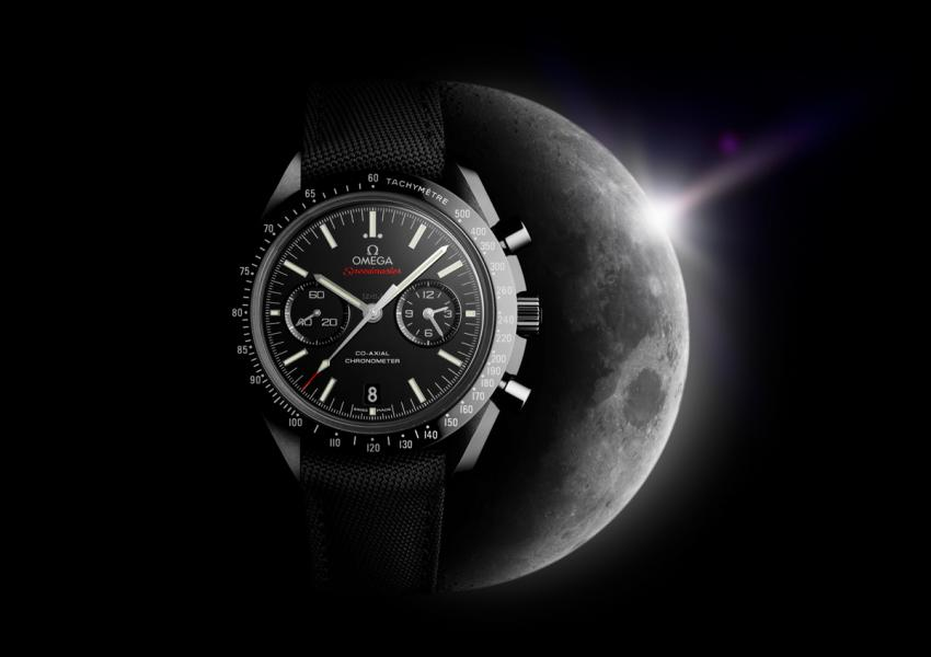 The OMEGA Speedmaster in black ceramic