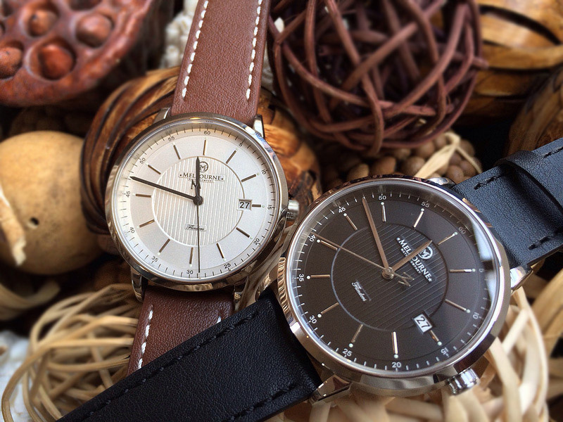 The Australian Melbourne Watch Company debuts with two Flinders Automatic dress watches.