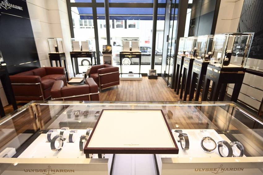 Ulysse Nardin's first boutique in Paris