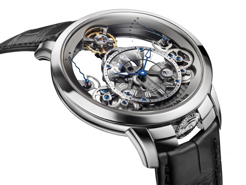 Arnold & Son stainless steel Time Pyramid