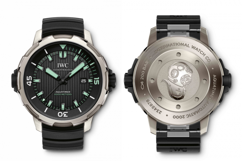 The new IWC Aquatimer Automatic 2000 (Ref. IW358002)