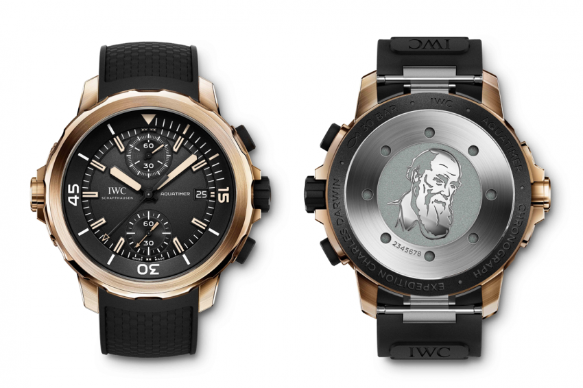 "IWC Aquatimer Chronograph Edition ""Expedition Charles Darwin"""