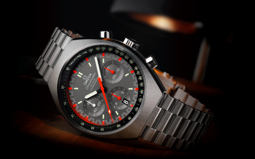 The updated Omega Speedmaster Mark II