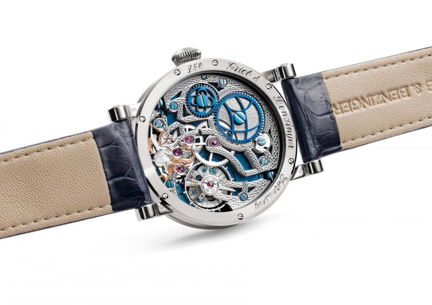 "The back of the Grieb & Benzinger Special Edition ""St. George"""