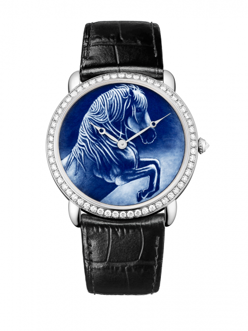 Ronde Louis Cartier with horse motif