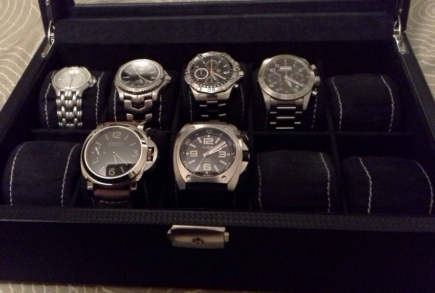 TimeCaptain's collection of watches