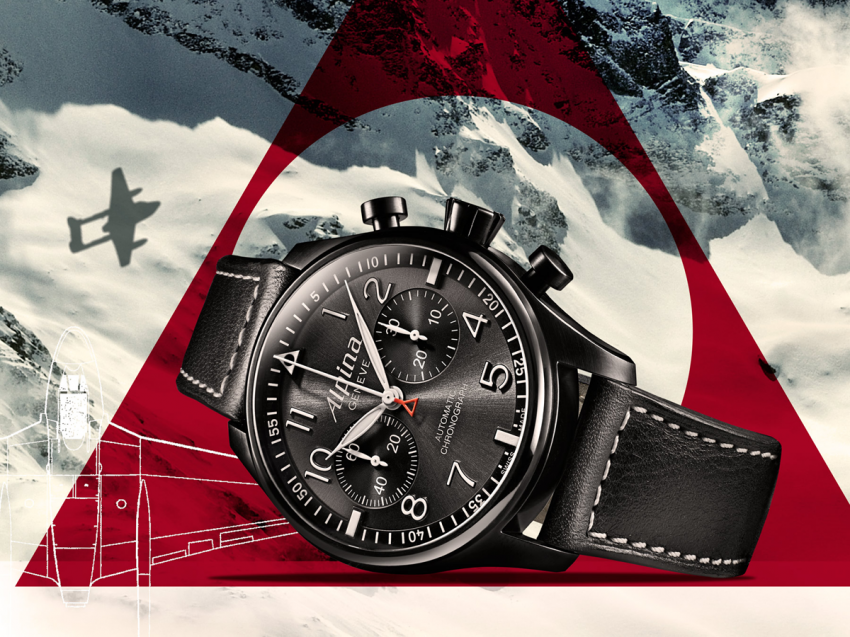 "The new ALPINA Startimer Pilot ""Black Star"""