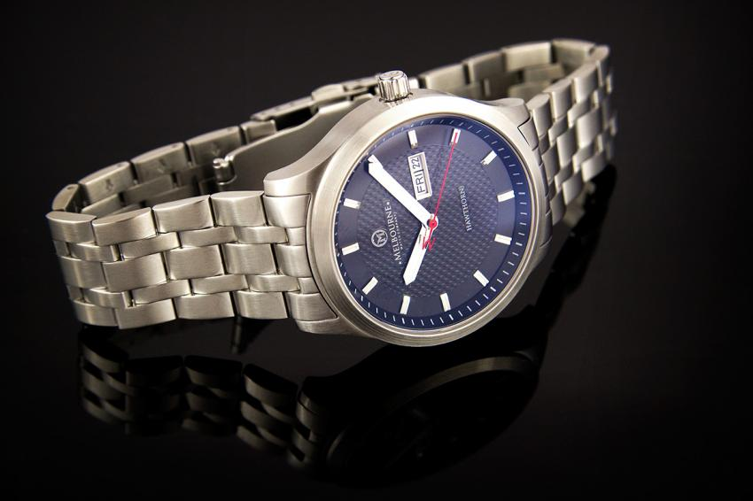 Melbourne Watch Company Hawthorn with stainless steel bracelet.