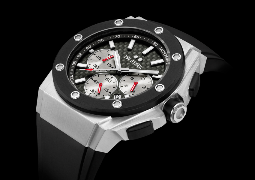 The new TW Steel CEO Tech David Coulthard Special Edition
