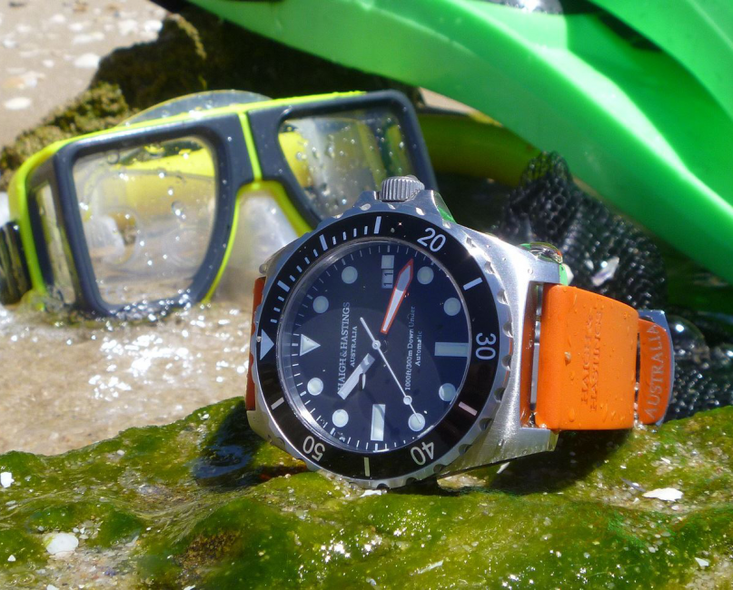 Haigh & Hastings M2 Diver Automatic, designed to explore great depths.