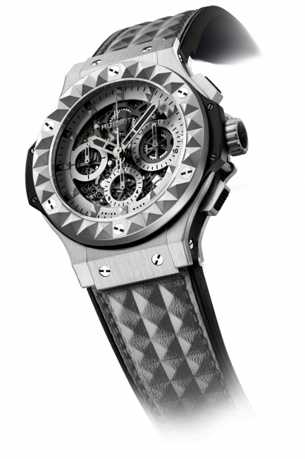 The Hublot Depeche Mode Limited Edition 2014 watch, made from steel.