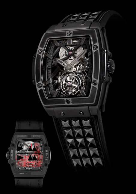 "The exceptional unique Hublot ""Depeche Mode Tourbillon"" ."