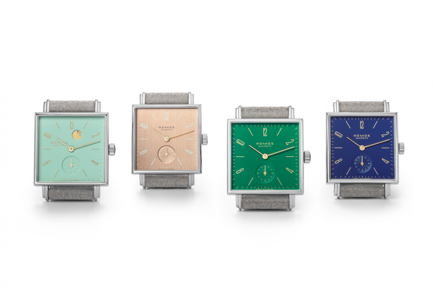 The new Berlin collection from Nomos Glashütte: Kleene and Goldelse, Clärchen and Nachtijall