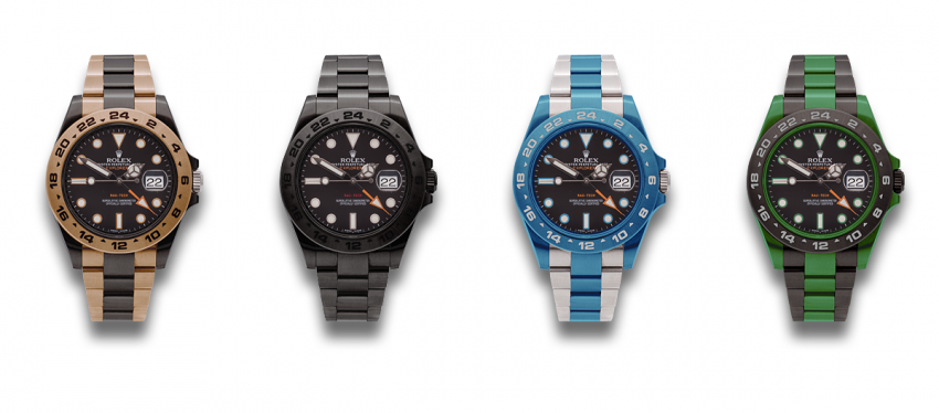 Rolex Explorer II with Rau-Tech Duramantan