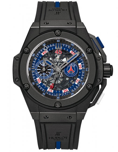 The Hublot King Power Paris Saint-Germain is limited to 200 pieces