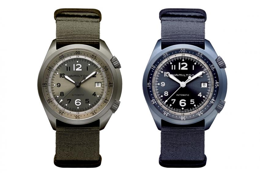 The Khaki Pilot Pioneer Aluminum is the first Hamilton watch with an aluminum case