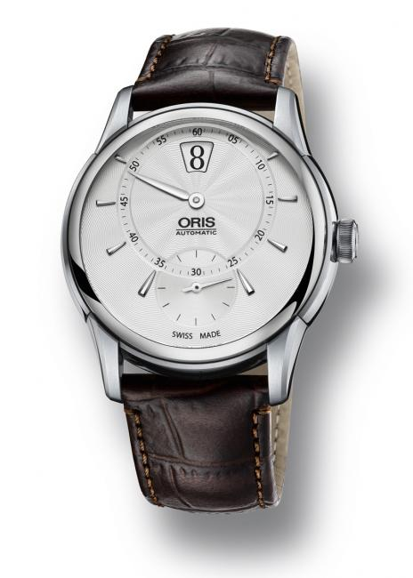The latest addition to Oris' Artelier collection, the new Oris Artelier Jumping Hour