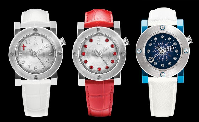 The new Ladies collection from The Chinese Timekeeper: CTK101 – Three Hands Automatic, CTK103 - Red Jade Automatic and the CTK102 – Diamond Sky map Automatic