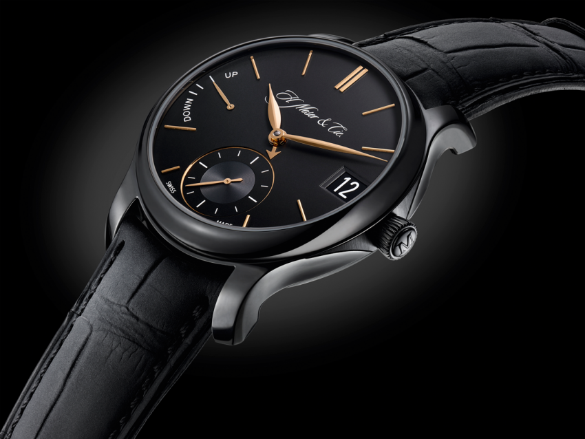 For the Perpetual Calendar Black Edition, H. Moser & Cie chose titanium for its exceptional mechanical properties.