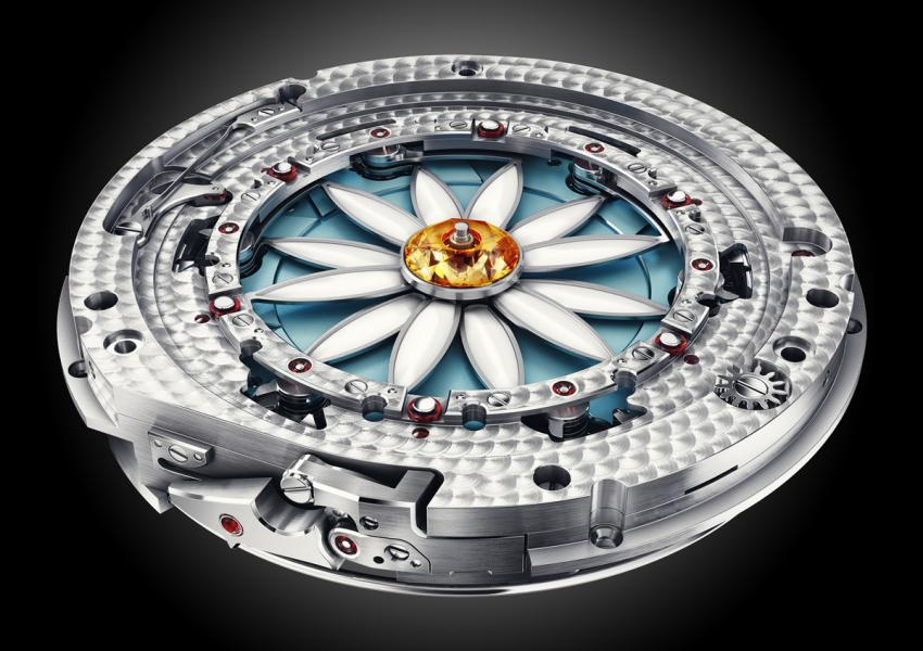 """Margot is Christophe Claret's first ladies' complication. A watchmaker's take on the """"He loves me… he loves me not. game."""